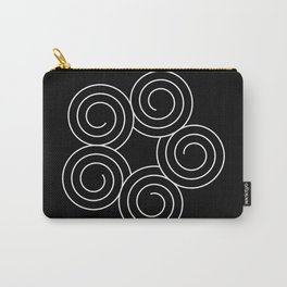 Invert spirals Carry-All Pouch