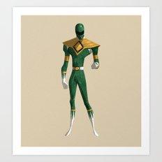 Green Ranger Art Print