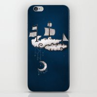 ship iPhone & iPod Skins featuring SHIP by Jumanaah Hiasat