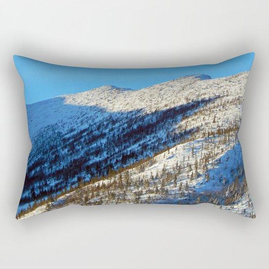 Mont Albert Peaks Rectangular Pillow
