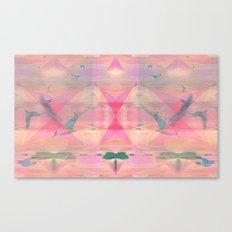 Diamond Gulls Canvas Print