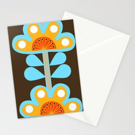 swedish flowers Stationery Cards