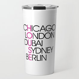 Worldwide House EDM Quote Travel Mug