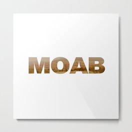 Moab Road Trip Metal Print