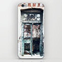 Photography of Abandoned Place iPhone Skin