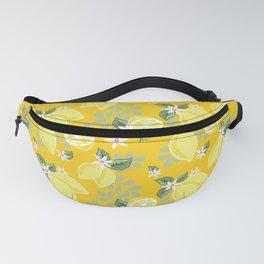 Lemons on Sunshine Yellow Fanny Pack