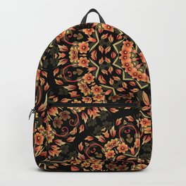 Ombre Floral Mandala Backpack