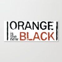 oitnb Canvas Prints featuring oitnb by Raquel S