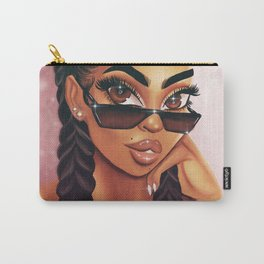 Cornrows Shawty Carry-All Pouch