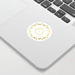 Modern minimalist art line Sticker