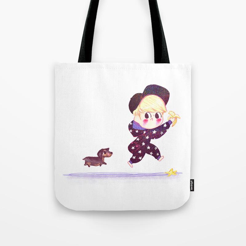 Jonghyun Roo Tote Bag By Beepbeep