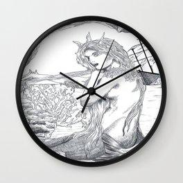 Le petite sirène  Wall Clock