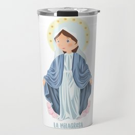 The Miraculous Medal Travel Mug