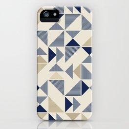 Zigzag Triangles iPhone Case