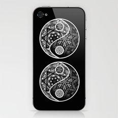 Yin Yang Zentangle iPhone & iPod Skin