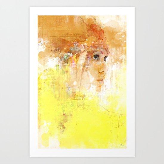Stealth portrait Art Print