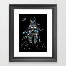 Interstellar Travels Framed Art Print