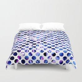 Fluid Dot (Blue Version) Duvet Cover