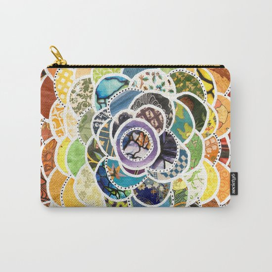 Rainbowbloom Carry-All Pouch