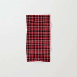 red print hand bath towels society6 - Red And Black Print Bath Towels