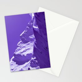 Alaskan Mts. I, Bathed in Purple Stationery Cards