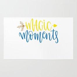 Magic moments shirt Rug