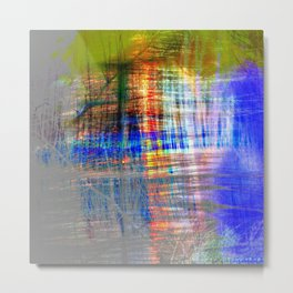 abstract dessign color ## ## Metal Print