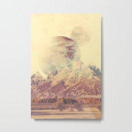 PLANETARY CONFUSION Metal Print