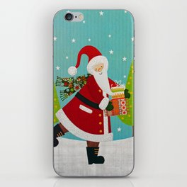 Santa and Presents iPhone Skin