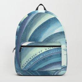 Harmonia Macrocosmica Plate 10 Blue Backpack