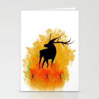 native Stationery Cards featuring Native by Max Wellsman