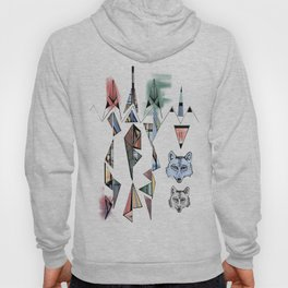 Mountian Wolves  Hoody