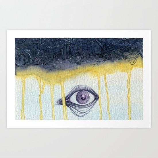 Visions of Shadesmar Art Print