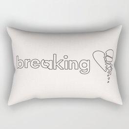 Breaking Hearts Rectangular Pillow