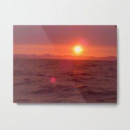 sun spot Metal Print