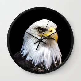 Majestuous Bald Eagle Wall Clock