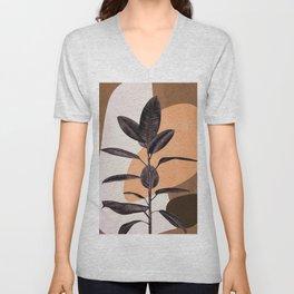 Ficus Unisex V-Neck