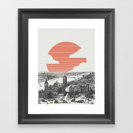 Goodnight London Framed Art Print