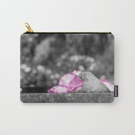 Stone Bird Carry-All Pouch