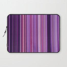 Pink Purple Stripes Laptop Sleeve