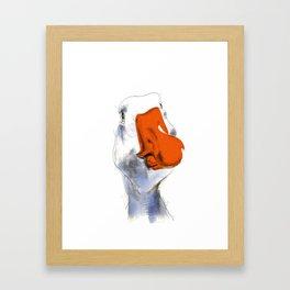 Goose Framed Art Print