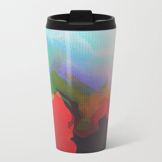 Glitch 14 Metal Travel Mug