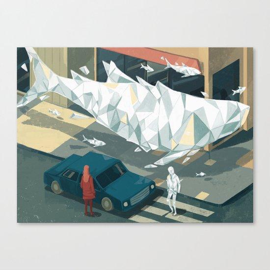 Glitch 02 Canvas Print