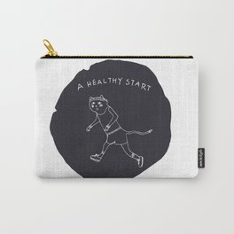 Relax Cat, A Healthy Start, Running Carry-All Pouch