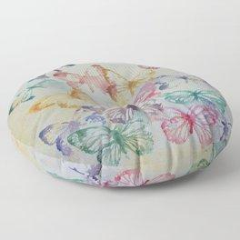 Butterflies II Floor Pillow