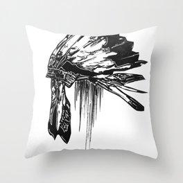 Native Living Throw Pillow
