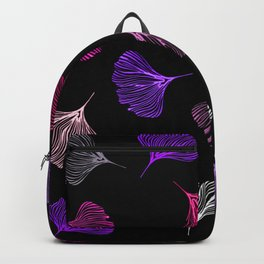 coral ginkgo Backpack