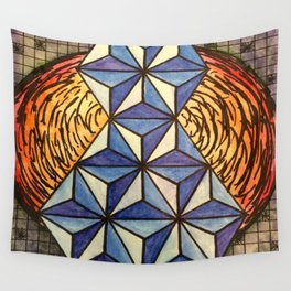 Geo Space Wall Tapestry