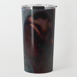 The Kiss - Edvard Munch Travel Mug