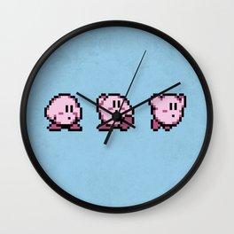 Kirbys Adventure Wall Clock